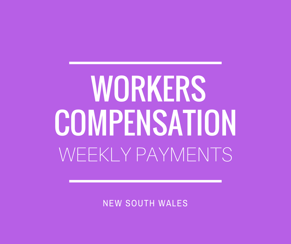 NSW Workers Compensation Weekly Payments Lawyer Sydney