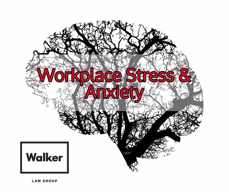 Psychological Injury Workplace Stress Anxiety