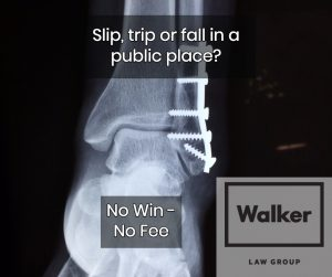 Slip Trip Fall Lawyers Sydney No Win No Fee
