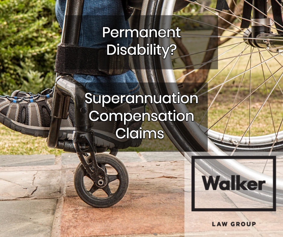 Permanent Disability Superannuation Compensation Claims