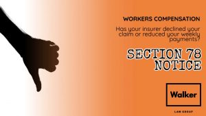 Section 78 Notice Workers Compensation WIRO Lawyer Sydney