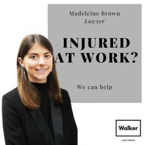injured at work lawyer madeleine brown