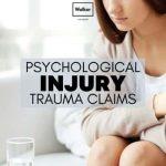 psychological injury trauma claims compensation lawyer sydney
