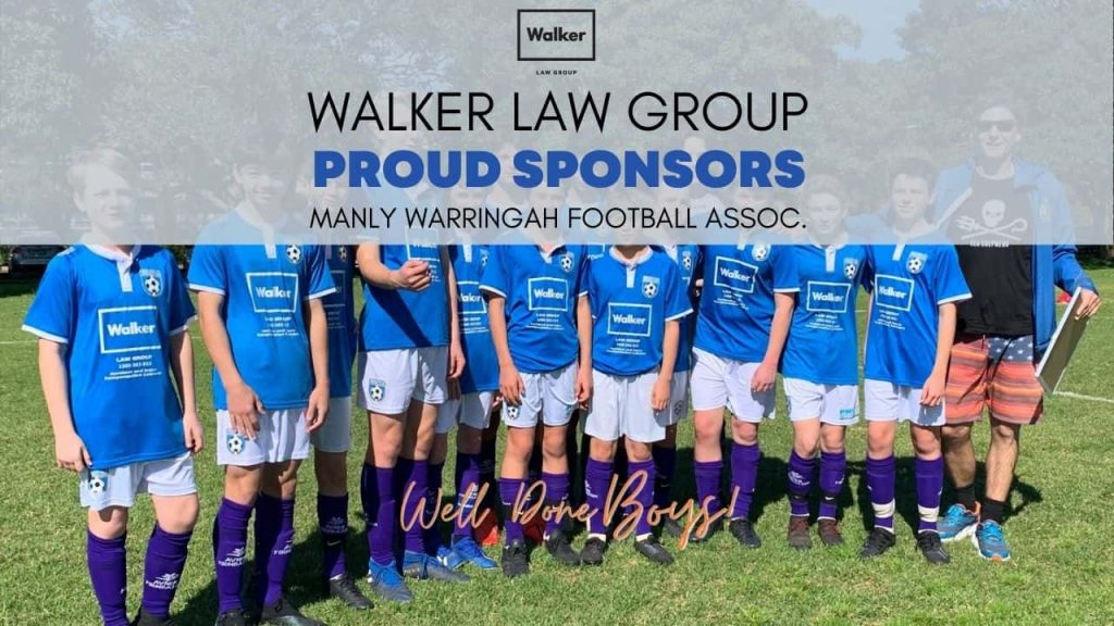 Manly Warringah Soccer Assoc Sport Local Sponsors Walker Law Group