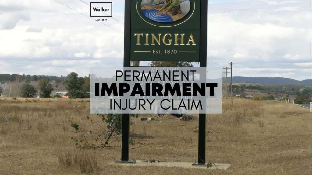 Sydney Permanent Impairment Injury Compensation Claim Lawyer