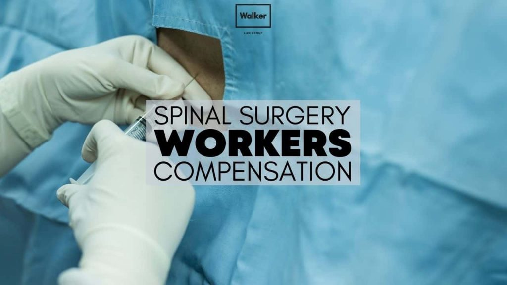 Spinal Surgery Compensation Lawyer Sydney